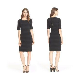 KATE SPADE • New York Scuba Sheath black dress